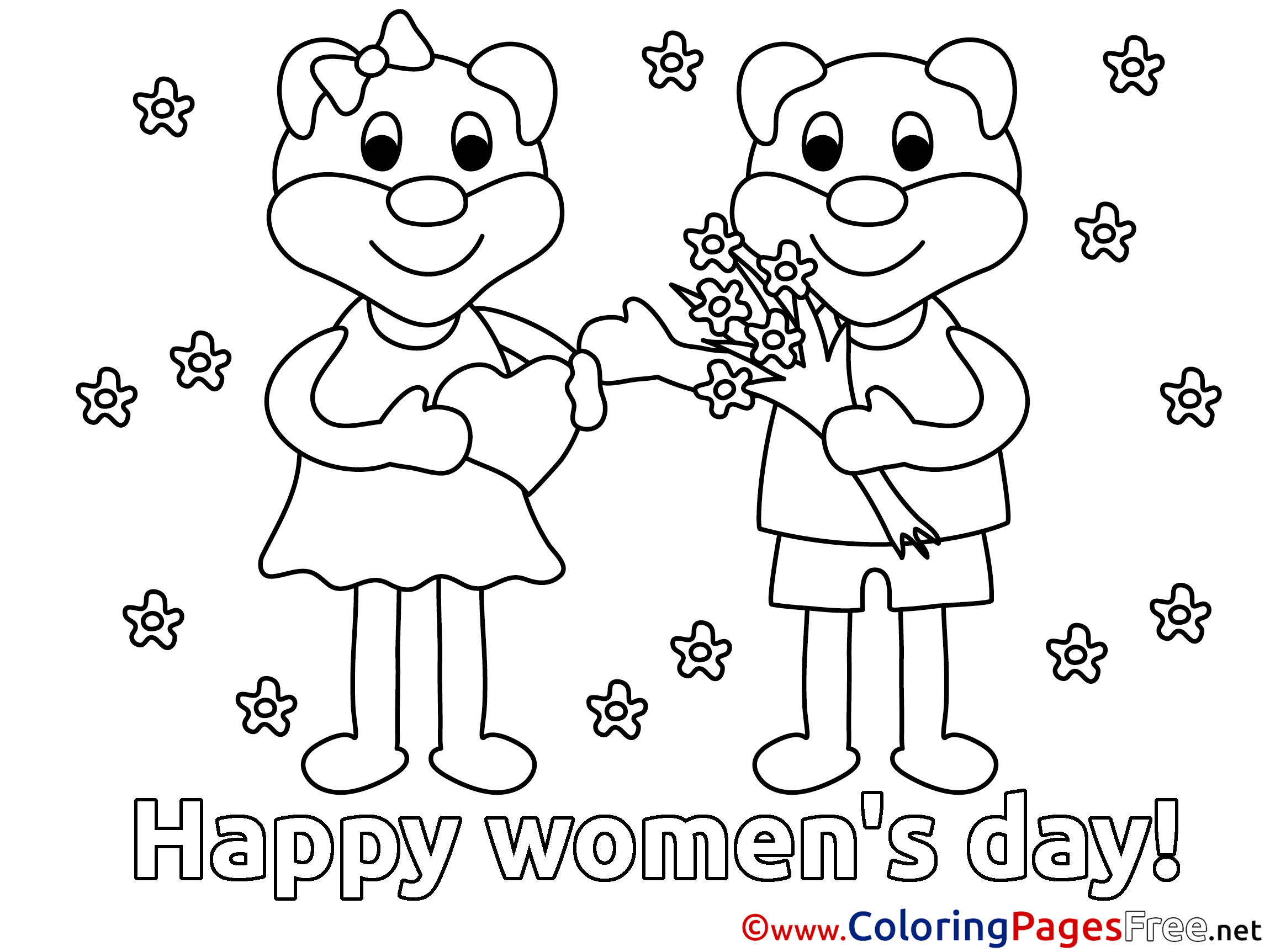 Childrens day colouring pages - Childrens Day Colouring Pages 13