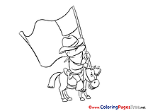 Coloring Pages for free Independence Day