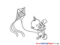 Free Coloring Pages Kid download