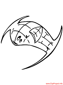 Spacecraft coloring sheet
