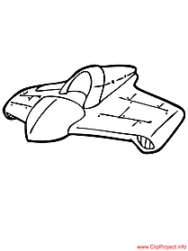 Spacecraft coloring sheet free