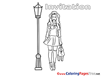 Rendezvous Colouring Sheet download Birthday