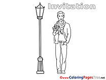 Rendezvous download Birthday Coloring Pages