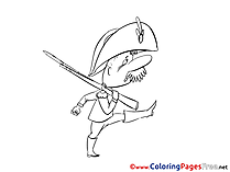 Marching Coloring Pages for free