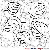 Autumn Coloring Sheets download free