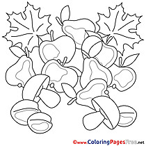 Champignon Kids download Coloring Pages