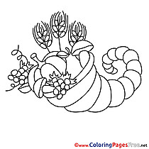 Harvest Coloring Pages for free