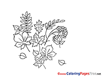 Herbs Children Coloring Pages free