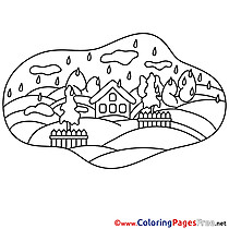 House printable Coloring Pages for free