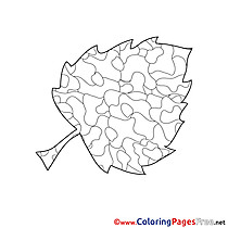 Leaf Kids download Coloring Pages
