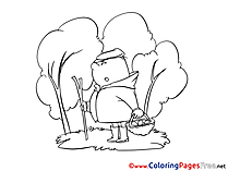 Mushroomer download printable Coloring Pages