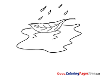 Puddle for free Coloring Pages download