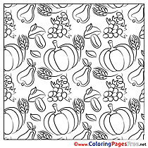 Pumpkins printable Coloring Sheets download