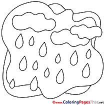 Shower printable Coloring Sheets download