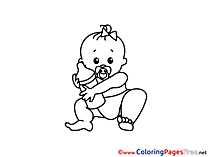 Bottle free Colouring Page download