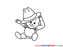 Hat download printable Coloring Pages