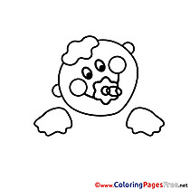 Infant for free Coloring Pages download