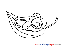 Leaf Coloring Pages for free