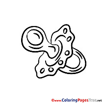 Soother Coloring Sheets download free