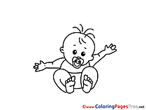Soother Kids download Coloring Pages