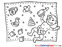 Toys for free Coloring Pages download