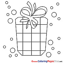 Picture Happy Birthday Coloring Pages download