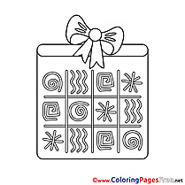 Symbols Coloring Pages Happy Birthday for free