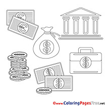 Business Coloring Pages free
