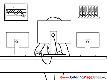 Business free Coloring Pages