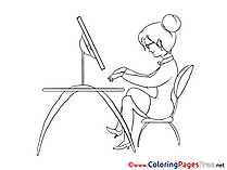 Coloring Pages Business