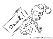 Discount Coloring Pages Business