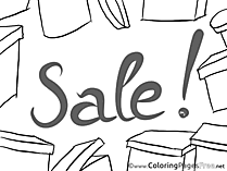 Discount Coloring Sheets Business free