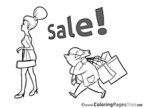 Discount Colouring Sheet download Business