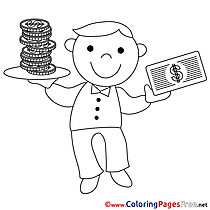 Economist Kids Business Coloring Pages