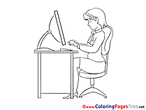 Economy Kids Business Coloring Pages