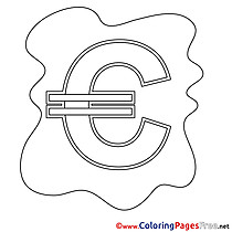 Euro Business Coloring Pages free