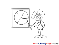 Hare Business free Coloring Pages