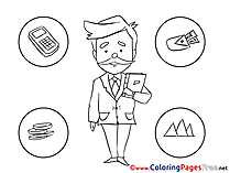 Illustration Business free Coloring Pages