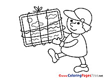 Loader Business free Coloring Pages