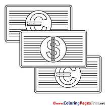 Money Business Coloring Pages download