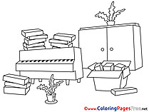 Move printable Coloring Pages Business