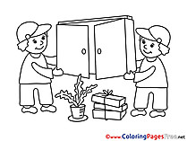 Porter Business Coloring Pages free