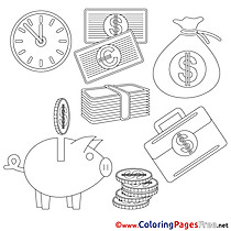 Printable Coloring Pages Business