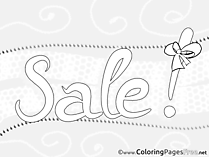 Sale Kids Business Coloring Pages