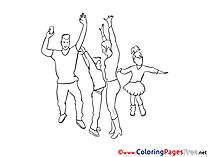 Carnival Coloring Pages for free