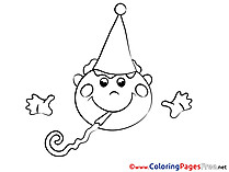 Holiday for free Coloring Pages download