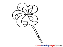 Kids Sweets free Coloring Page