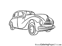 Car Coloring Sheets download free