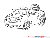 Coloring Sheets download Car free
