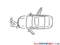 Mechanical Kids download Coloring Pages